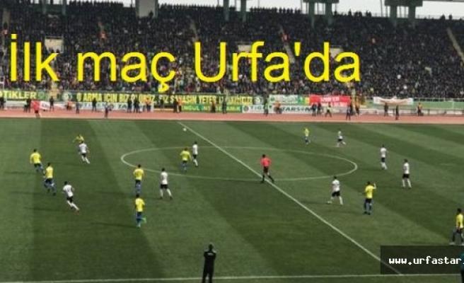 İşte Urfasporun fikstürü