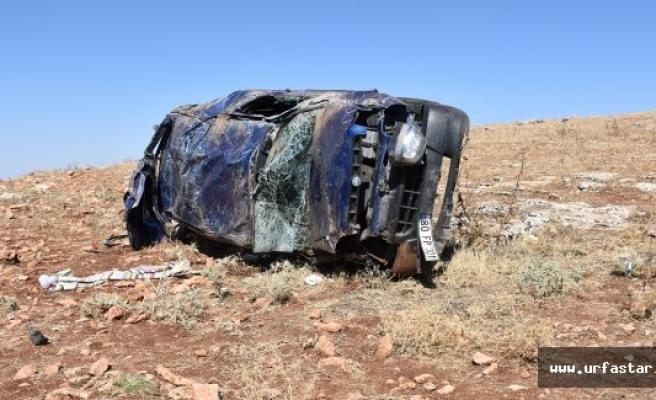 Hilvan'da, Bayram Tatili Yolunda Kaza: 5 Yaralı