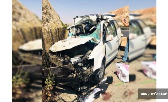 Iraklılar Birecik'te kaza yaptı!