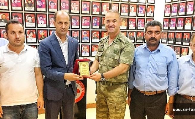 Tuğgeneral İsmail Hakkı Köseali'den Başkan Yavuz'a Veda Ziyareti
