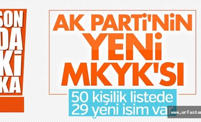 URFA'DAN 4 İSİM MKYK'YA GİRDİ...
