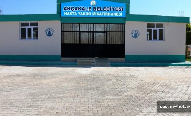 Akçakale Belediyesi Hasta Yakınları Misafirhanesi Açılıyor