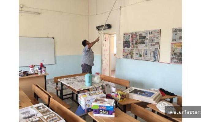 Okulların Boya ve Bakımı Hilvan Belediyesi'nden