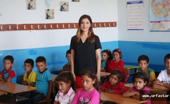 Urfa dağlarında bir Öğretmen