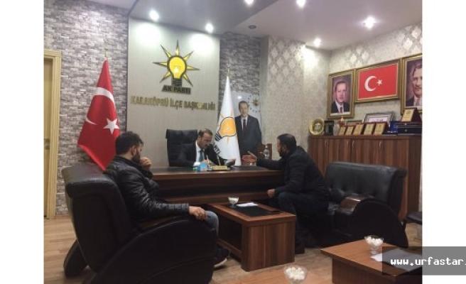 Aksoy Vatandaşları dinliyor...