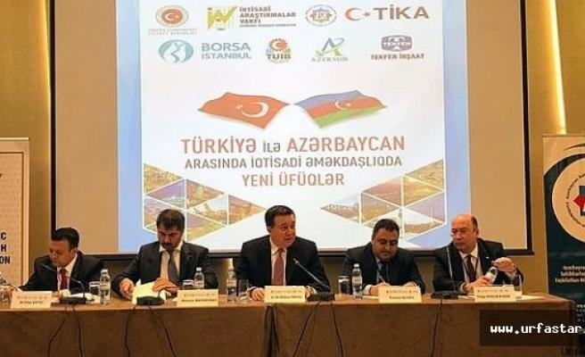 Azerbaycan'da Urfa rüzgarı esti