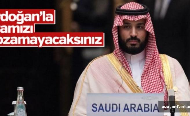 Veliaht Prens: Türkiye ile aramızı bozmaya çalışıyorlar...
