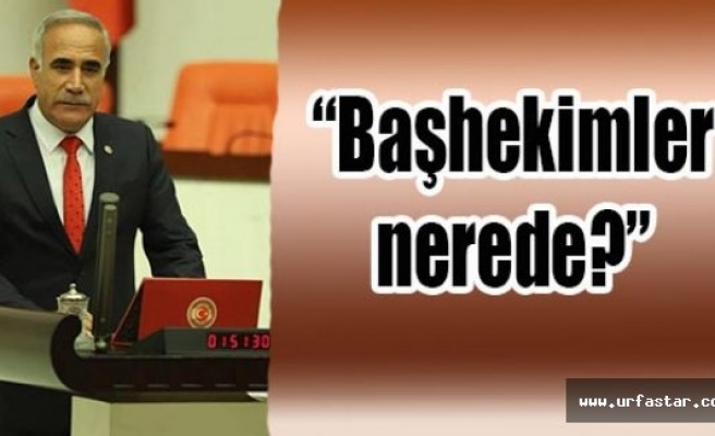 Milletvekili Aydınlık, Sağlık Bakanı'na sordu!