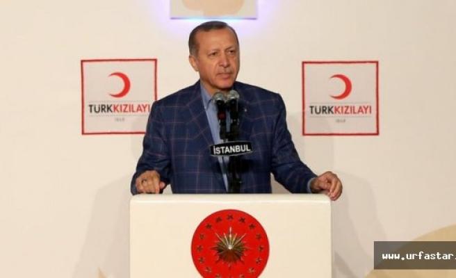 Erdoğan Urfa sınırını işaret etti