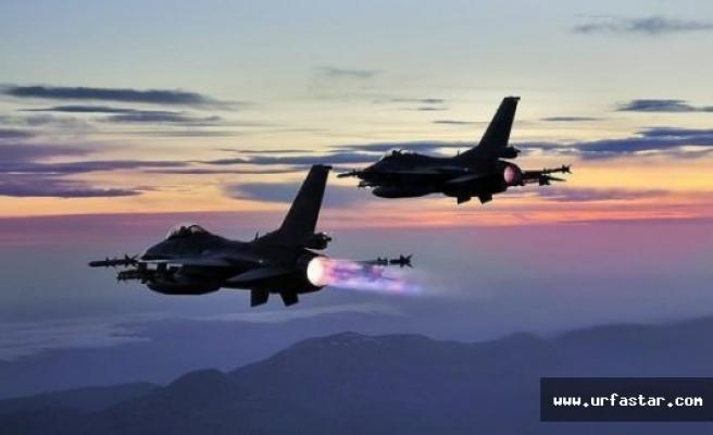 Türk jetleri o bölgeleri vurdu