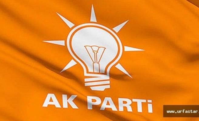 Ak Parti Urfa cephesinde şok istifa...