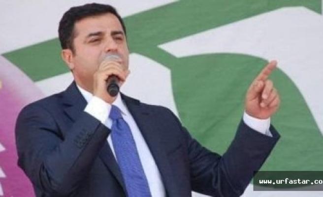 Demirtaş CHP'ye Oy verin demiyoruz...