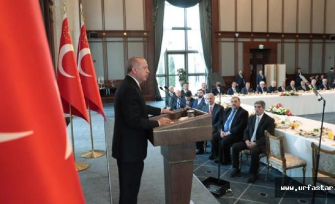 Erdoğan Urfalı isimleri davet etti...