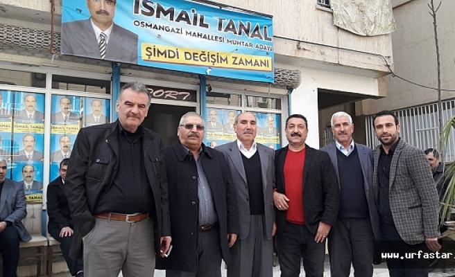 Osman Gazi muhtar adayı iddialı...