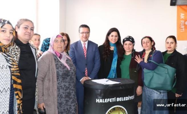"""Sakar:""""Halfeti'ye Ak Belediyecilik gelecek"""""""