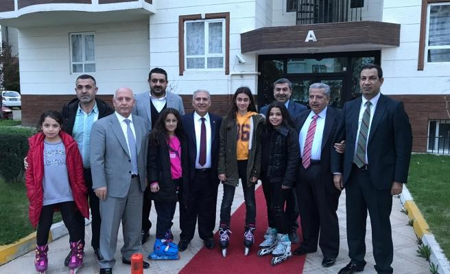 Akyürek destek için Urfa'da