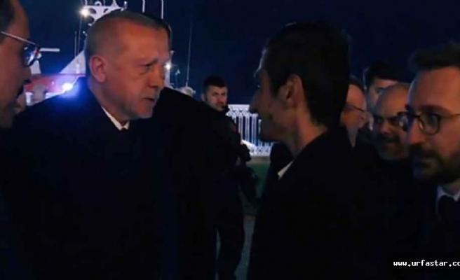 """Erdoğan'dan Bayburtlu Yusuf' a """"İyiki varsın""""..."""