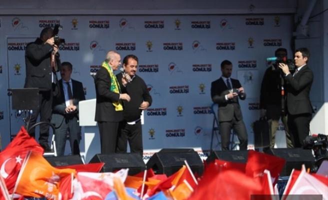 """Erdoğan""""Trenden inen bir daha binemez""""..."""