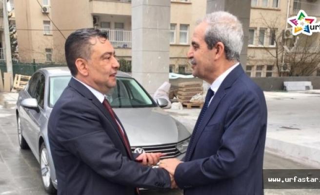 İYİ Parti Adayı Dağ, Başkan Demirkol ile görüştü