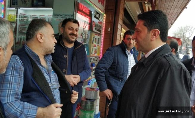 Pasaj esnafından Hekimoğlu'na tam destek