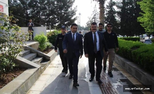 Tipioğlu, Başkan Özyavuz'a ziyaret...