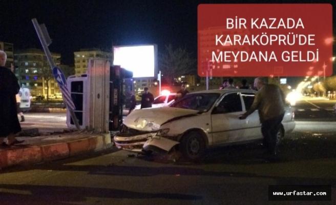 Trafik ışıkları yanmayınca kaza kaçınılmaz oldu!