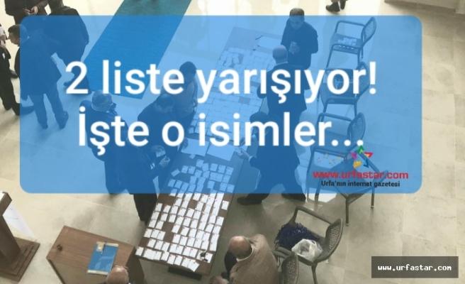 Urfa OSB seçimi başladı...