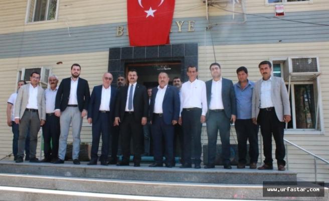 Başkan Yıldız ekibiyle Başkan Mirkelam'ı ziyaret etti