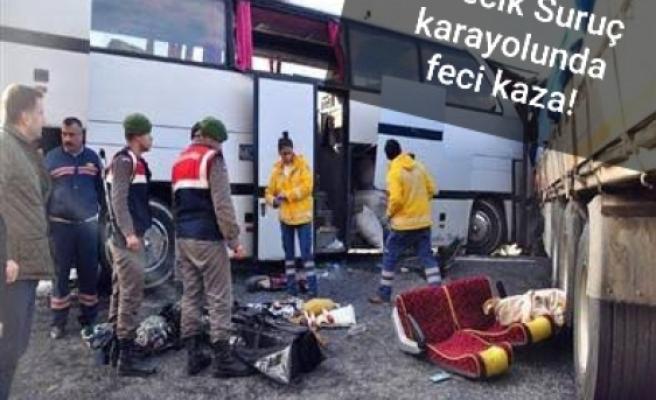 İşçi Bayramı için Urfa'ya geliyorlardı!..