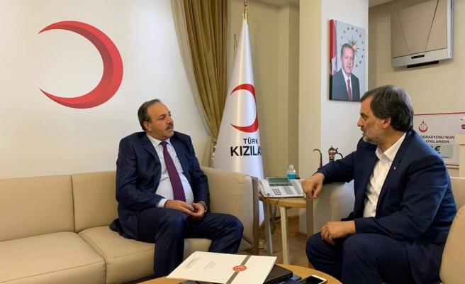 Özcan, Altan ile Urfa'yı konuştu...