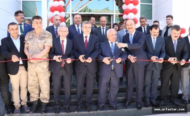 Urfa'nın en büyük hizmet binası açıldı...