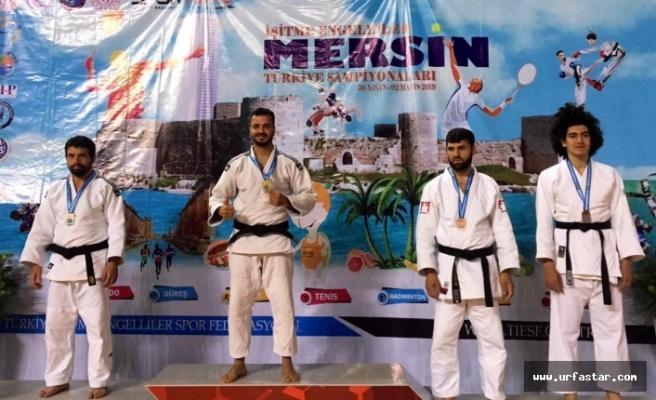 Urfalı Judocu engel tanımadı