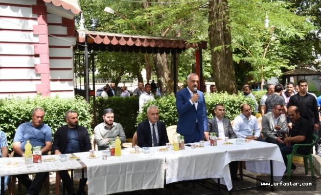 Başkan Bayık Vatandaşlarla Bayramlaştı