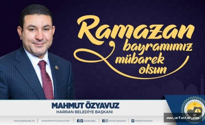 Başkan Özyavuz'dan kutlama mesajı
