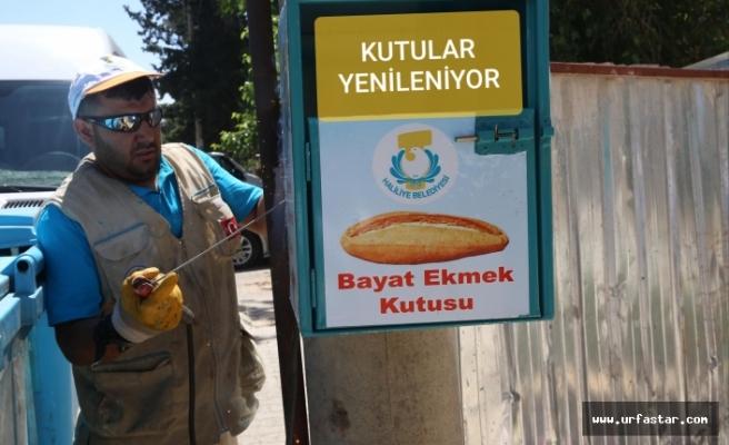 Haliliye Belediyesi ekmek israfını önlemeyi sürdürüyor...