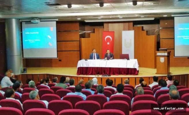 Haliliye'de 2 seçimin ardından olağan toplantı!