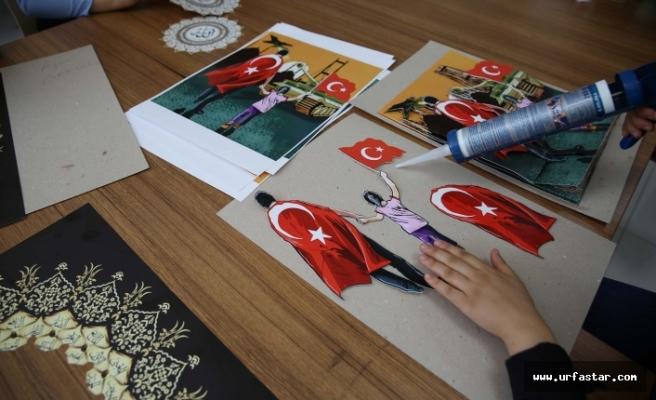 Haliliye'de sabır ve emek sanata dönüşüyor