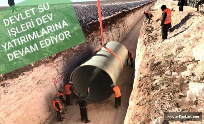 Viranşehir'de çalışmalar tam hız sürüyor...
