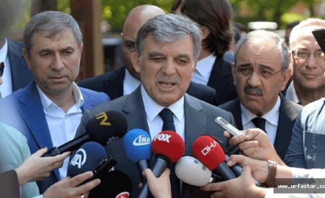 Abdullah Gül Urfa'da...