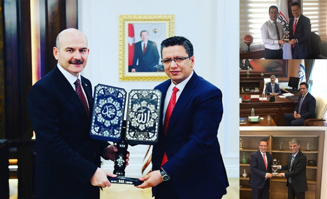 Halfeti için Ankara'ya çıkarma yaptı