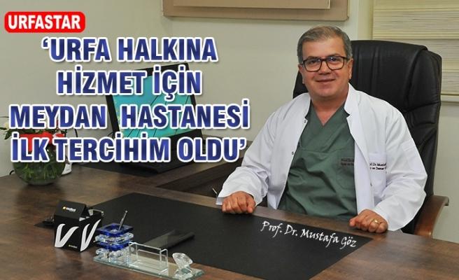 Tecrübeli Prof Meydan Hastanesinde...
