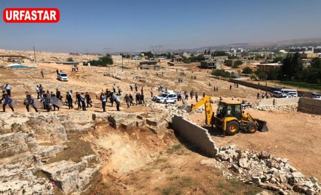 Urfa'da kaçak yapıyla mücadele sürüyor