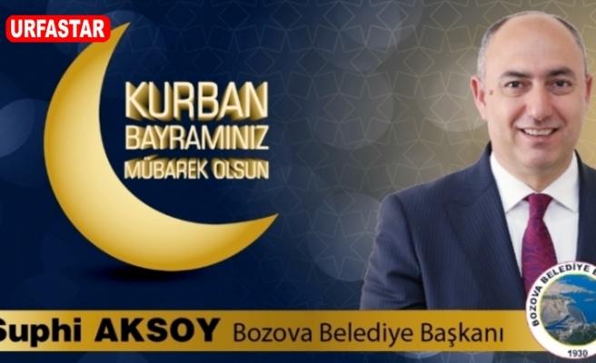 Başkan Aksoy Kurban Bayramını kutladı