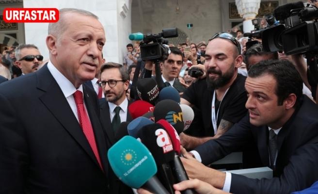Erdoğan'dan Davutoğlu'na sert cevap...