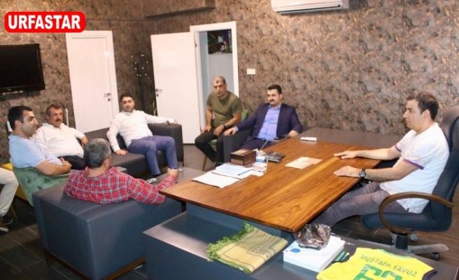Yıldız, Başkan Yavuz'u ziyaret etti...