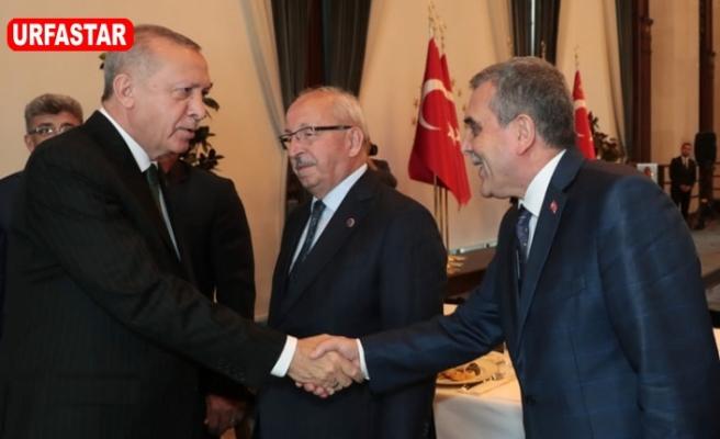 Erdoğan Belediye Başkanlarıyla buluştu...