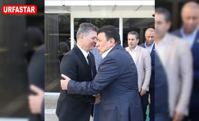 MHP Heyetinden Doğuş'a ziyaret...