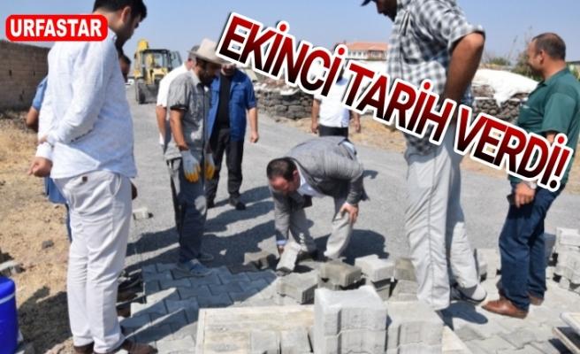 Viranşehir'de çalışmalar hız kesmeden devam ediyor...