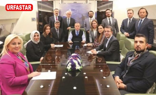 Erdoğan yurda dönüşte konuştu...