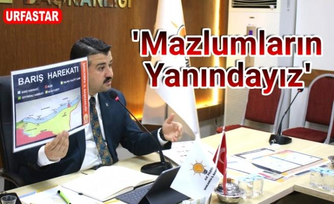 İl Başkanı Yıldız'dan flaş harekat açıklaması